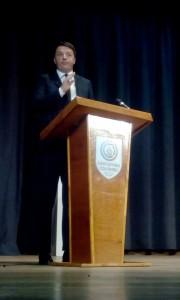Il Primo Ministro Matteo Renzi — em Buenos Aires.