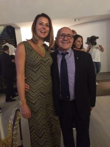 Com Alfredo Apicella, presidente do CONI Brasil.